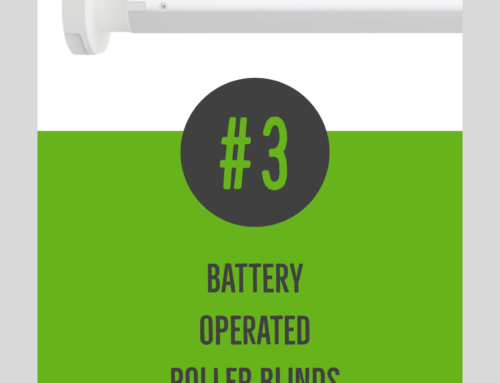 #3 Battery operated roller blinds