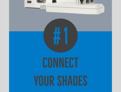#1 Connect your shades