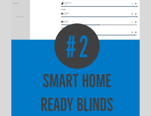 #2 Smart home ready blinds